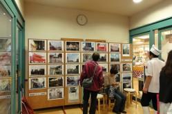 2010年度 写真展示の様子